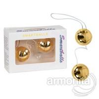 Gold Metal Kegel  İkili Orgazm Topu