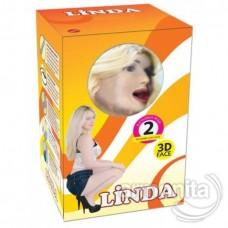 Linda 3 işlevli Sesli Realistik Şişme Manken