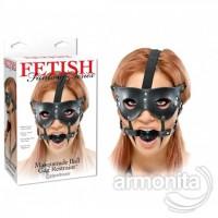 Kedi Kız Maskeli Ağız Tıkacı